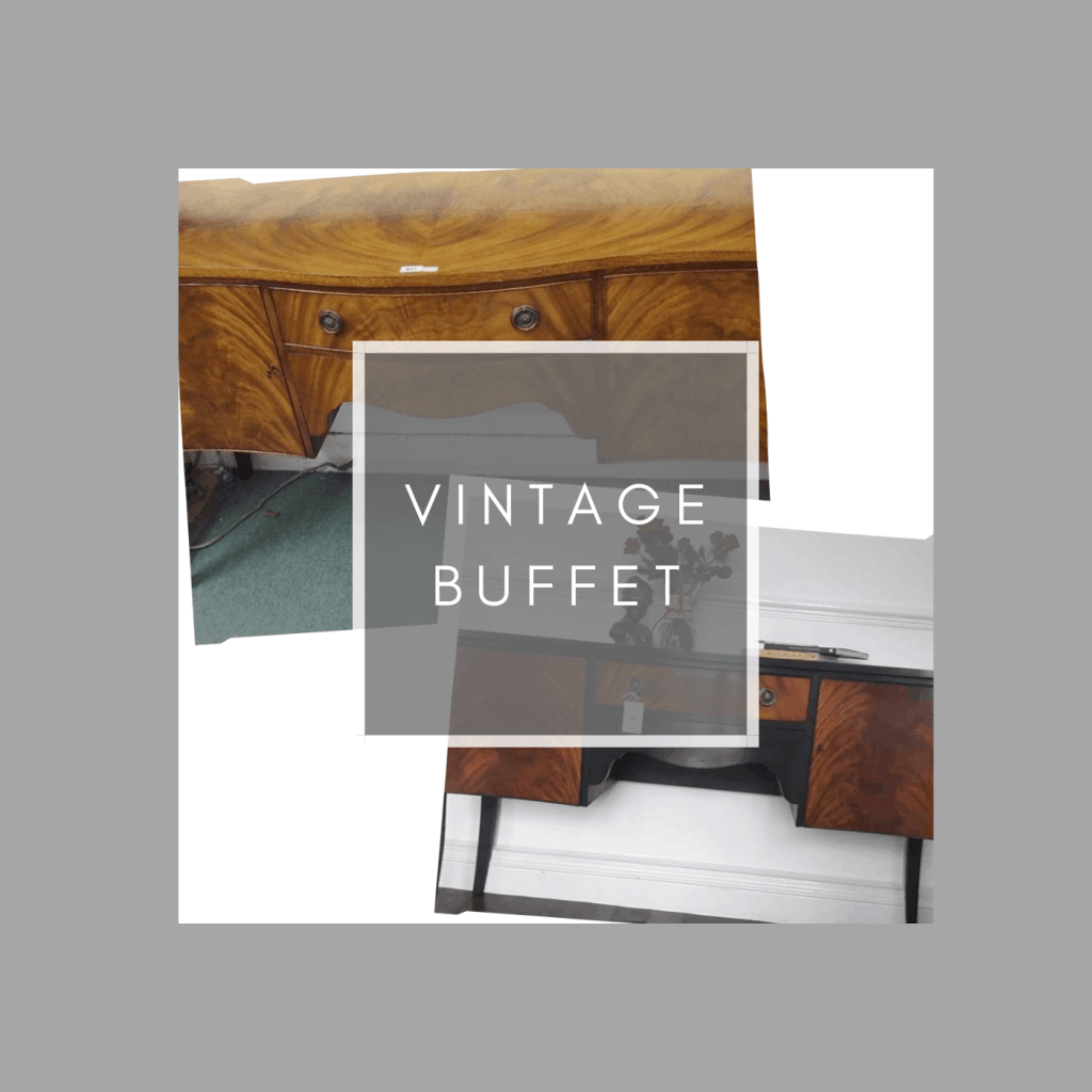how to upcycle a vintage buffet