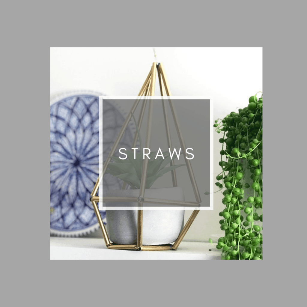 how to upcycle straws