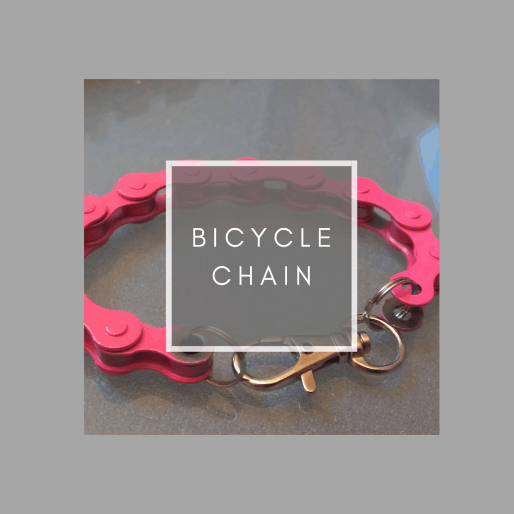 how to upcycle bicycle chain