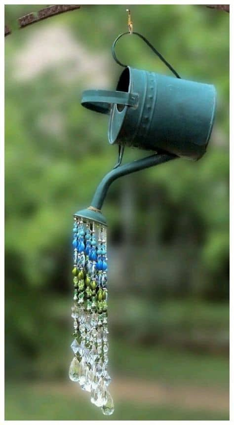 watering can wind chime project