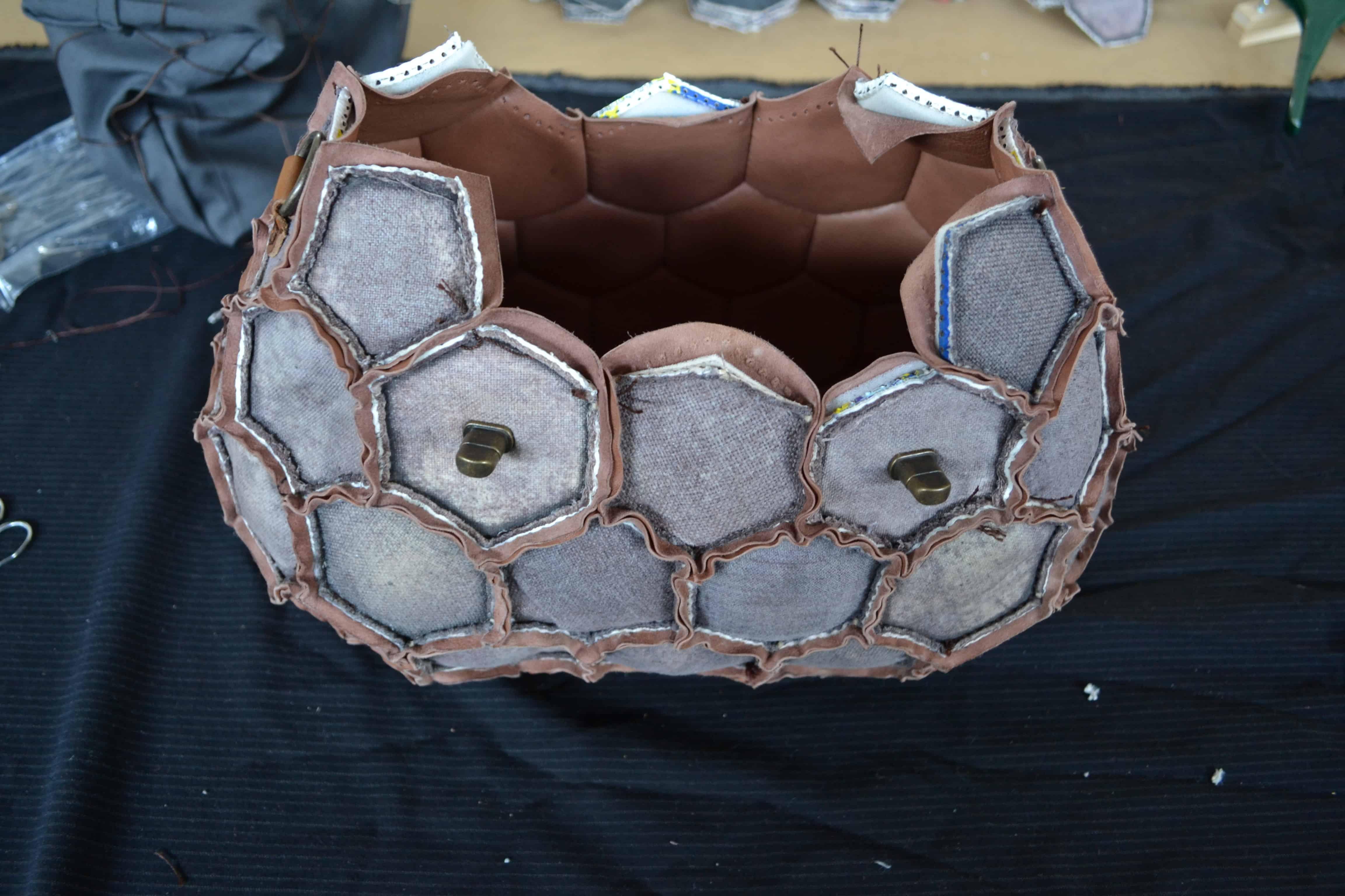 handbag from soccer ball