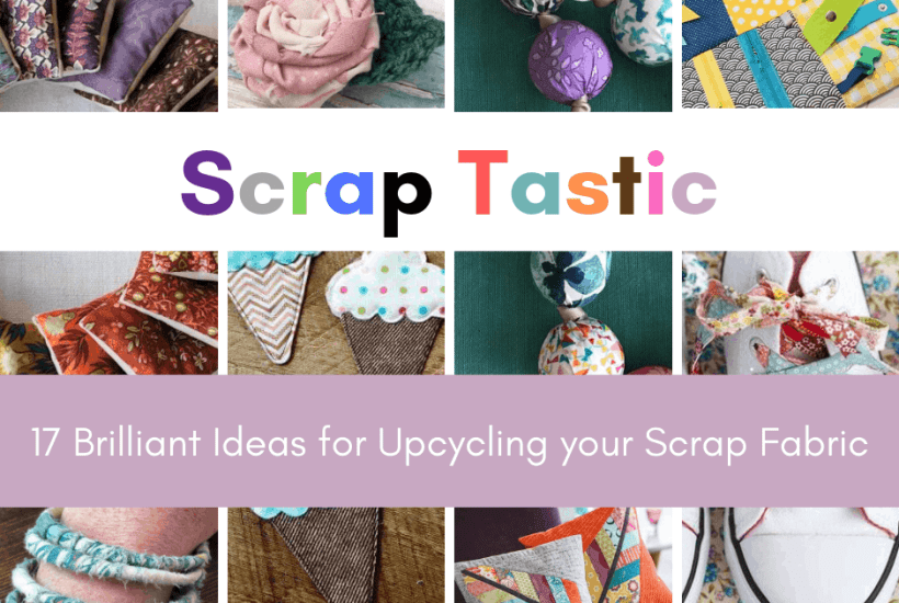 upcycle projects for scrap fabric