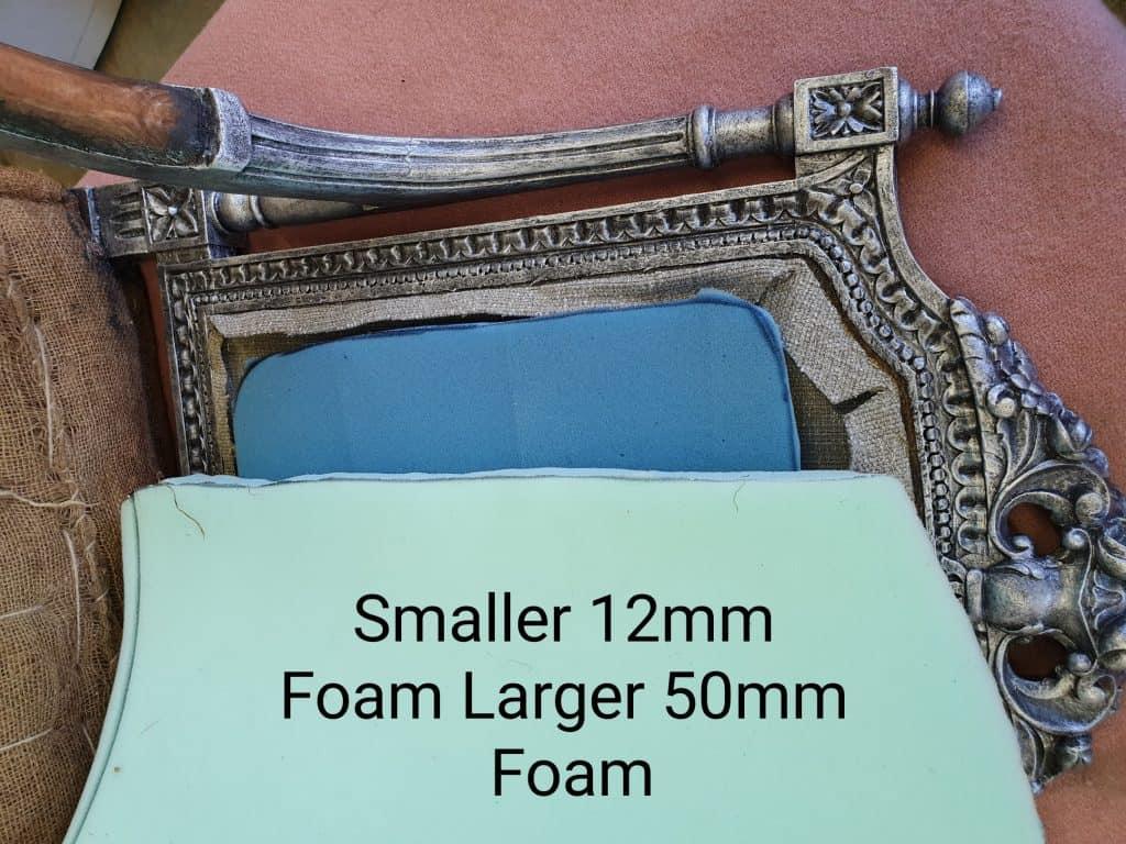 upholstery foam tutorial
