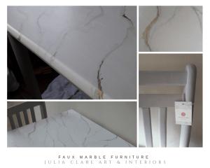 marble effect furniture restoration