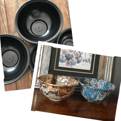 How to Upcycle Takeaway Containers into Decorative Trinket Bowls