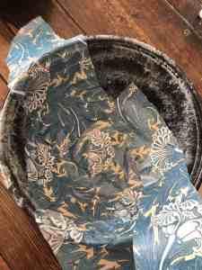 DIY William Morris trinket bowl