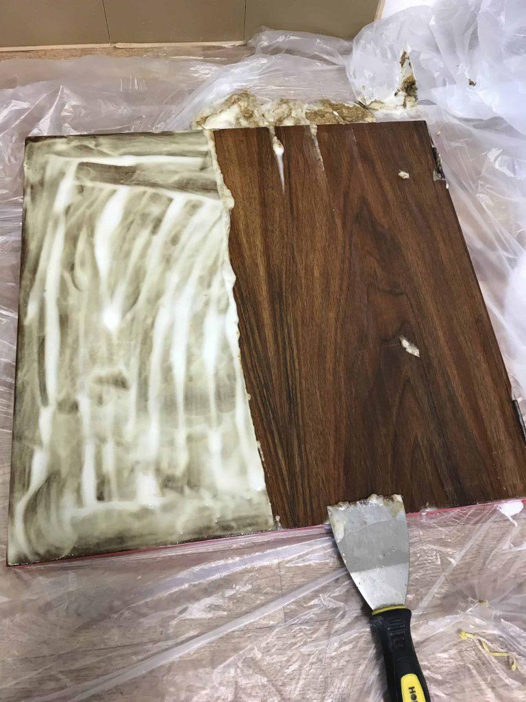 striping varnish off wood