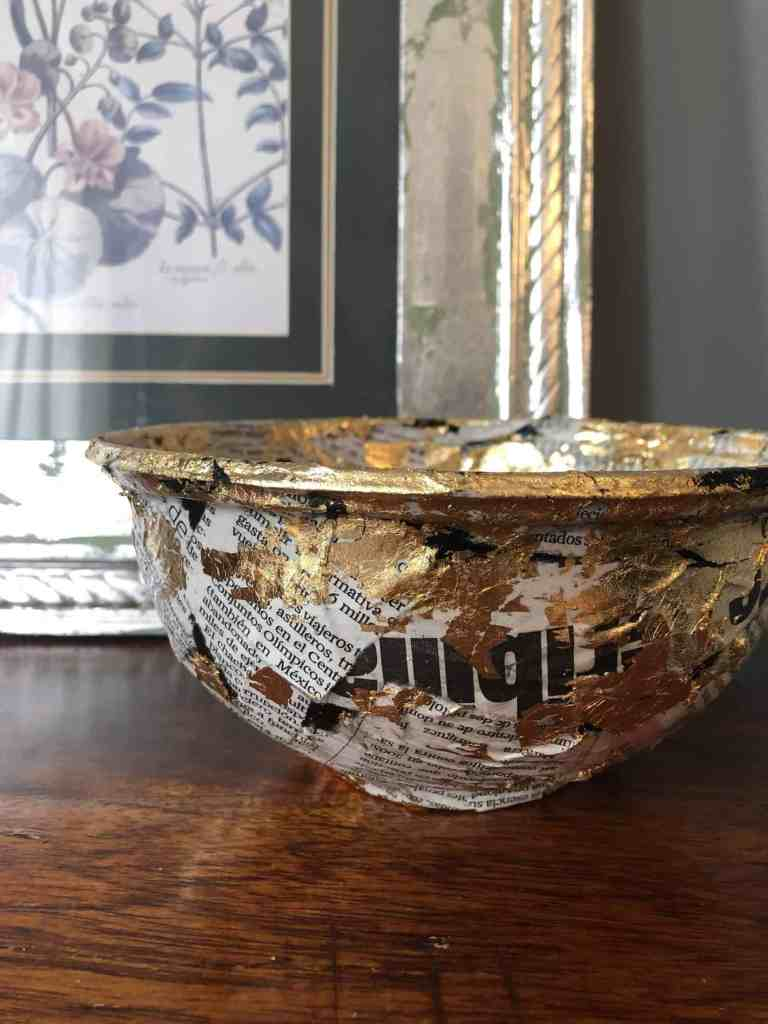 diy trinket bowl from takeaway container