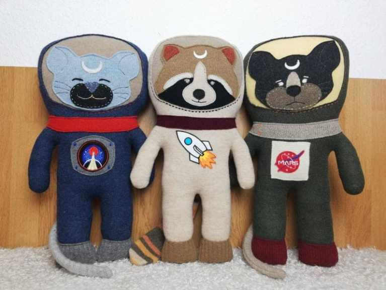 Upcycle soft toy
