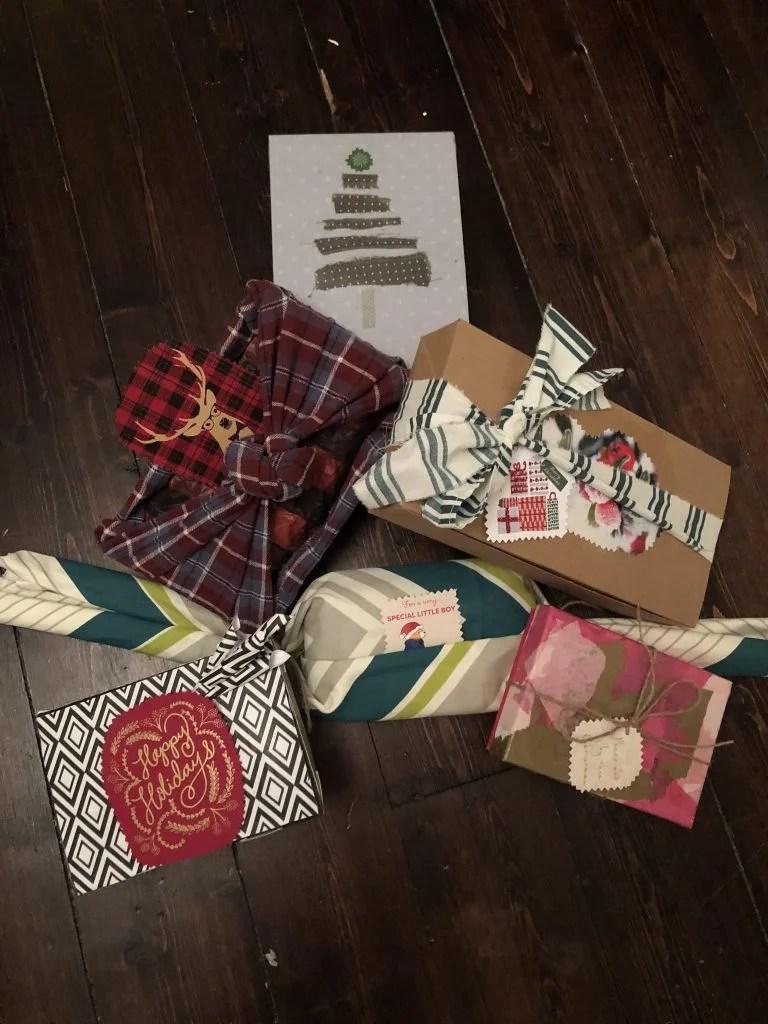 reuse packaging as gift box