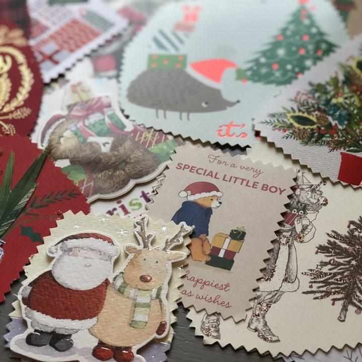 How to Upcycle Christmas Cards as Gift Tags