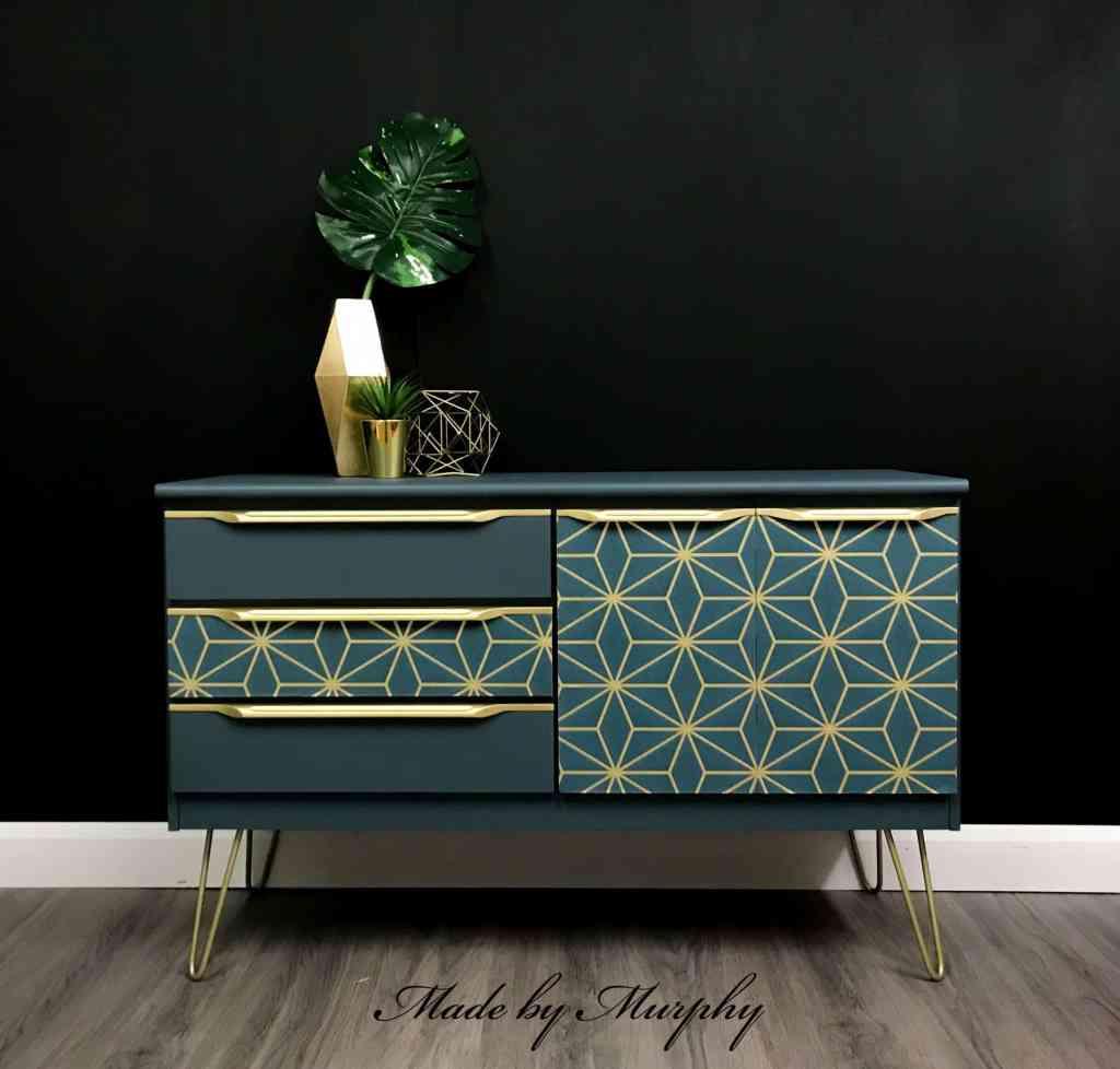made by murhpy art deco furniture painter