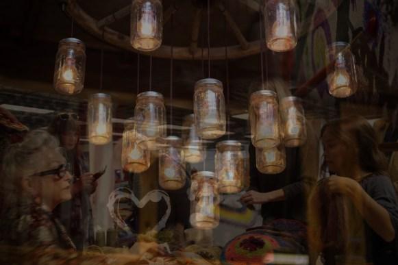ramona hotel - upcyclepop jar lights
