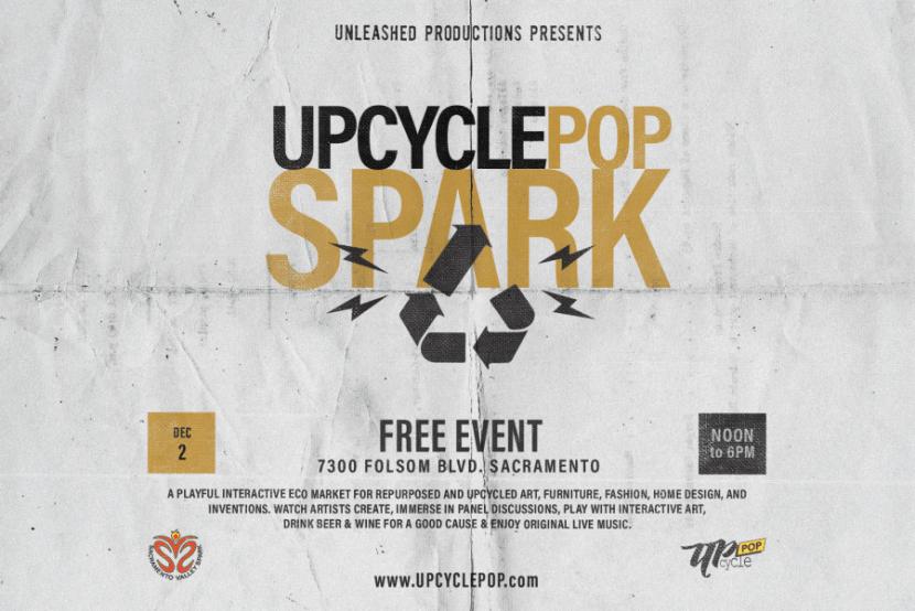 Sacramento Eco Holiday Market - Upcycle Pop