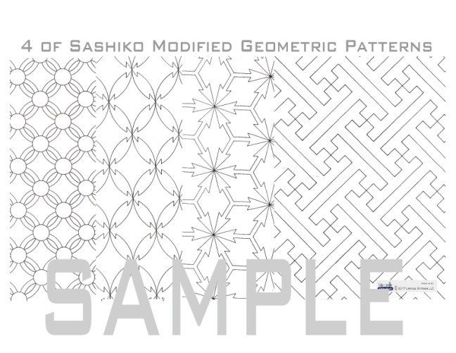 Sashiko Pattern Modified