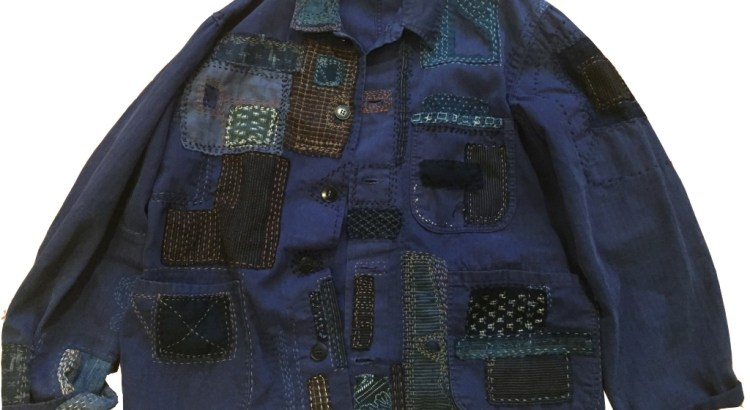 Sashiko Workshop Graduate Makes A beautiful Jacket