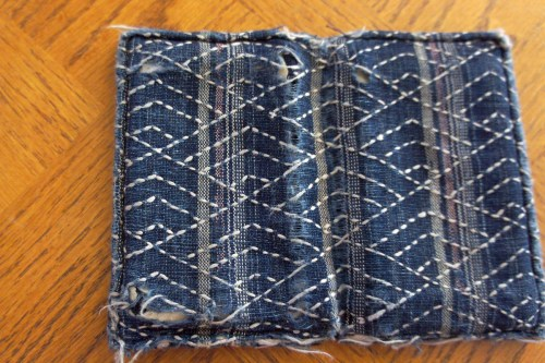 Wallet Sashiko Boro Repair 0