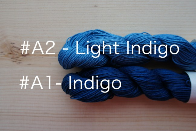 Indigo Dyed thread Comparison