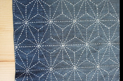 Sashiko Stitched Fabric Discount