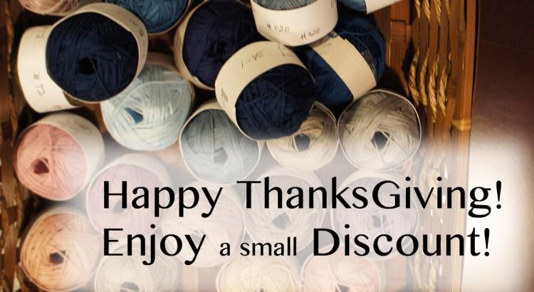 Sashiko Thread Thanksgiving Weekend Discount