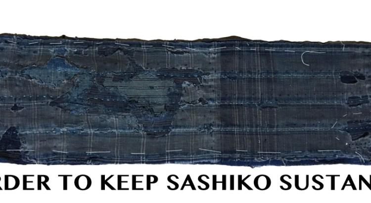 Sustainable Sashiko Tutorials