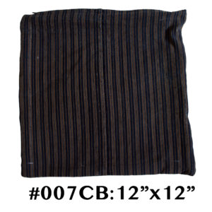 7CB Sashiko Cushion Boro-Inspired