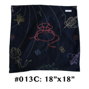 13 Takara Sashiko Cushion Cover