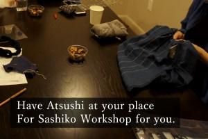 Private Sashiko Workshop Cover