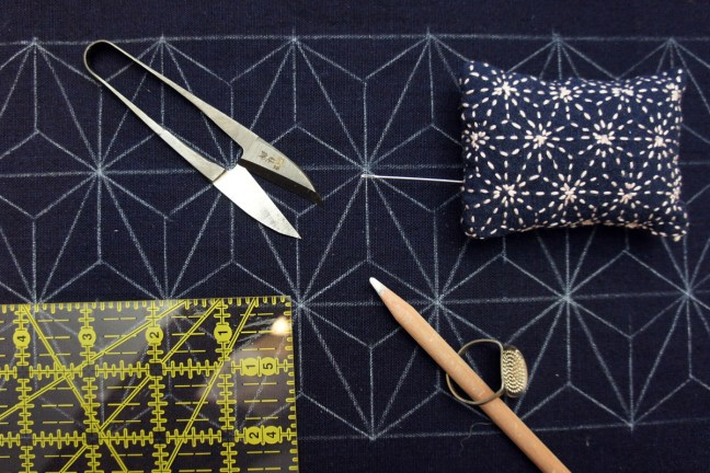 Sashiko Running Stitch