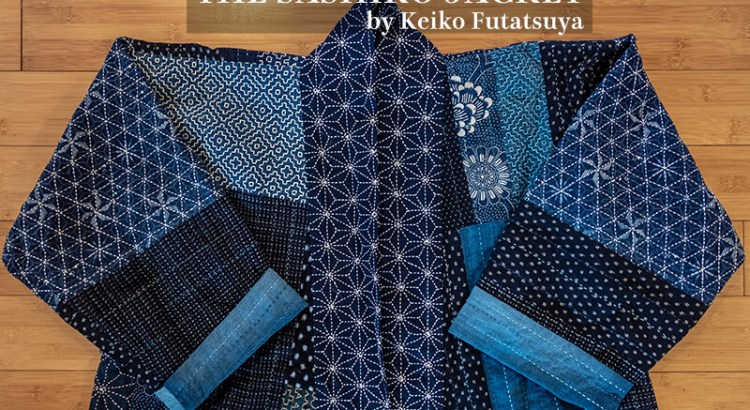 Wearable Fine Art Sashiko Cover