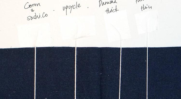 Sashiko Thread Thickness Comparison Cover
