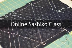 Sashiko Online Workshop Cover