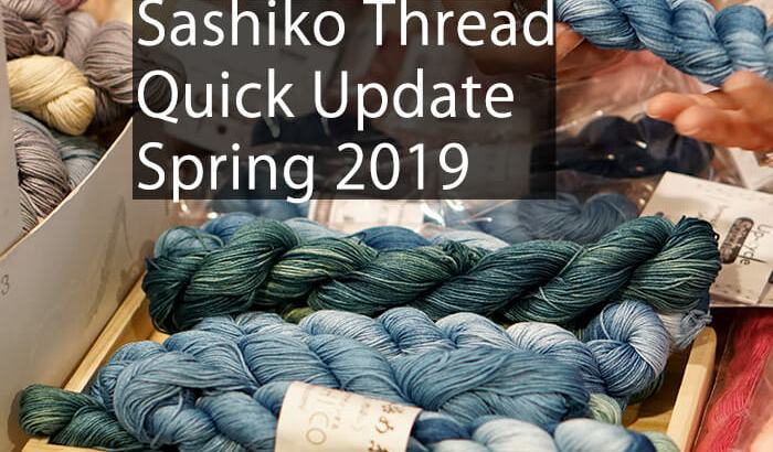 Sashiko Thread Spring 2019 Cover