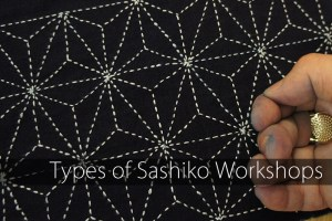 Types of Sashiko Workshops