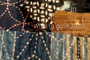 Sashiko Creation Year Cover
