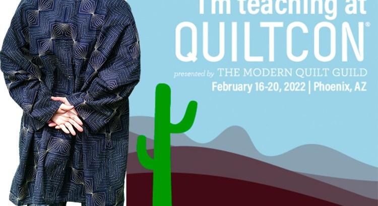 QuiltCon 2022 Sashiko Workshops