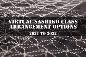 Sashiko Class Arrangement