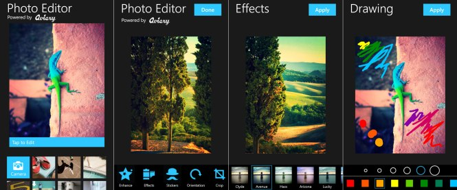 photo editing free apps