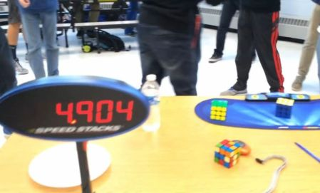 Lucas Etter Rubics Cube World Record