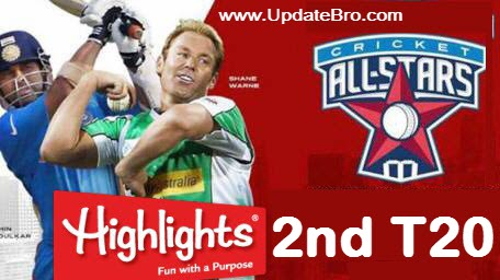 all-stars-2nd-t20-highlights