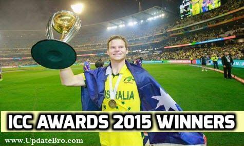ICC Awards 2015 Winners List