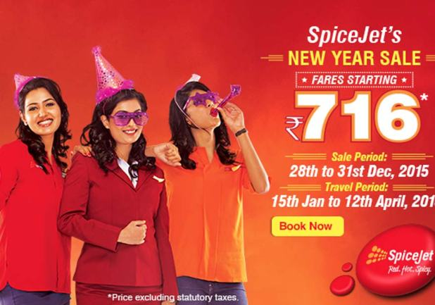 spicejet-offer-new year sale