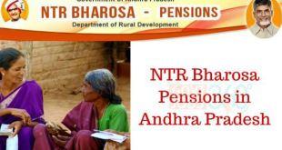 AP NTR Bharosa Pension Scheme