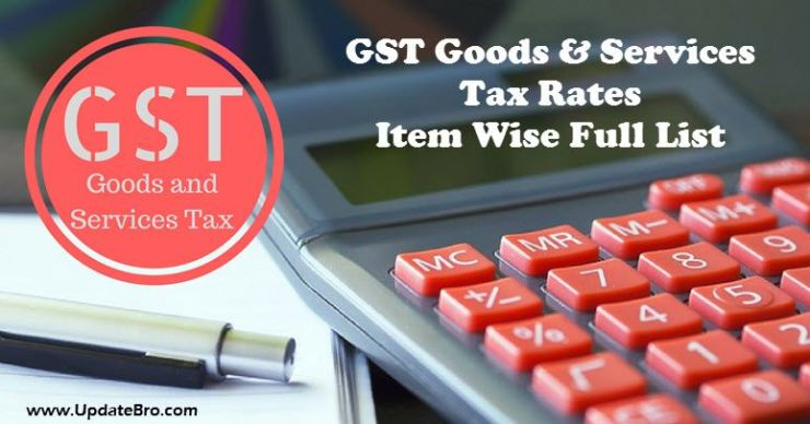 GST-Tax-Rates-for-Goods-and-Services-Item-Wise-List