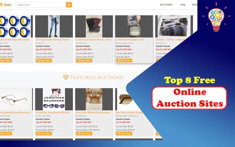 Online Auction Sites