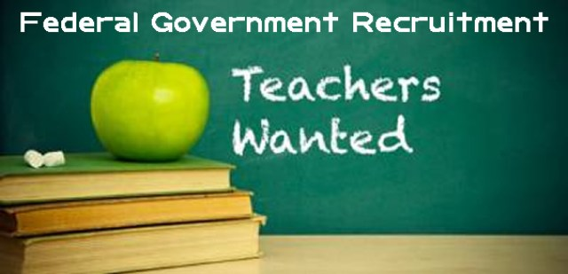 Requirement For Nigeria Federal Government Teachers Recruitment
