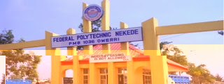 Federal Polytechnic Nekede Morning Programme Form