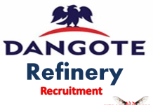 Dangote Refinery Recruitment 2019