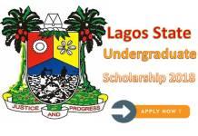 Lagos State Undergraduate Scholarship 2018