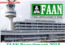 FAAN Recruitment 2018